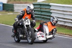6 MZ Sidecar racer