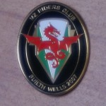 Builth Wells Rally Badge