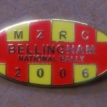 Bellingham Rally Badge