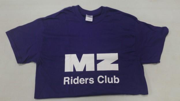 Blue MZRC T-shirt