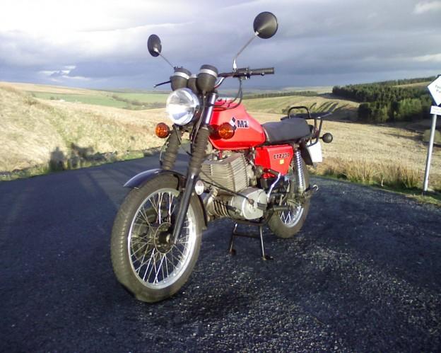 ETZ 250 - Andy Bury