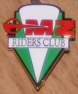 Pin badge. Komet & Shield MZRC logo. Size 25 x 33. £2.50 incl post